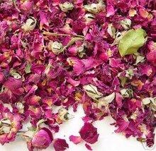 1 oz DRIED RED ROSE PETALS & BUDS Flowers Buds 4 Potpourri Mix - $3.95