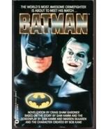 Batman Novel by Craig Shaw Gardner Adaptation Warner Books 1989 - $5.00