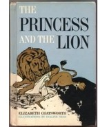 The Princess And The Lion Hc By Elizabeth Coatsworth 1963 - $5.00