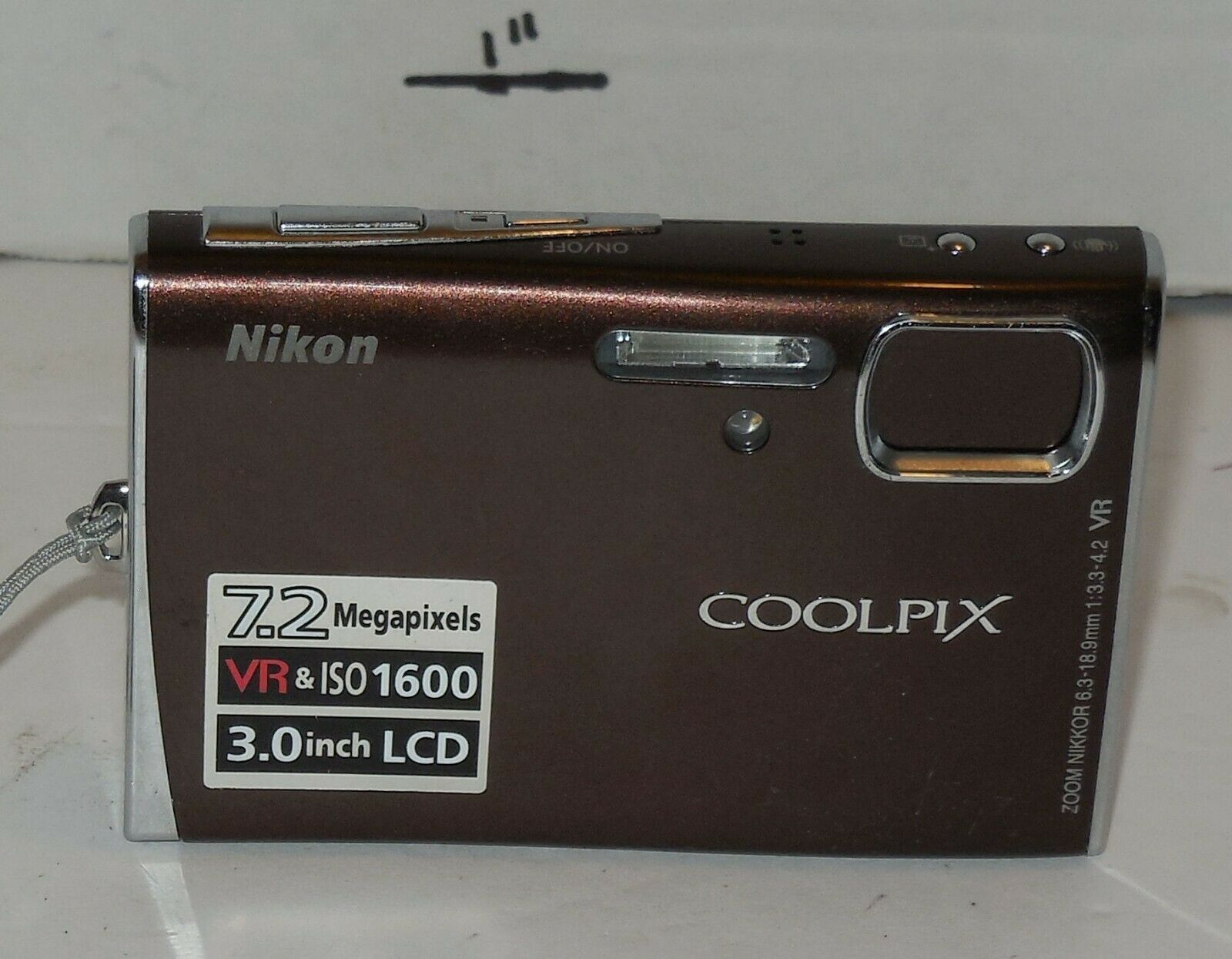 Primary image for Nikon COOLPIX S50 7.2MP Digital Camera - Dark Red