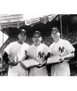 Yankees Legends - Berra - DiMaggio - Mantle - 16x20 Photograph - BW - $20.00