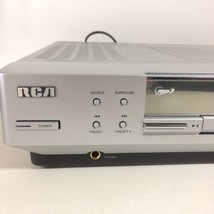 RCA RTD130 Audio Video Receiver DVD Player Home Entertainment Silver - $47.49