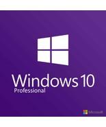 Microsoft Windows 10 Pro Professional 32/64bit Genuine License Key Produ... - $7.39