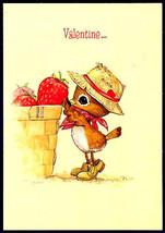 Hallmark Cards Original 1970s Valentine Greeting SPENCER SPARROW Bird in... - $7.99