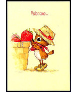 Hallmark Cards Original 1970s Valentine Greeting SPENCER SPARROW Bird in... - $7.99