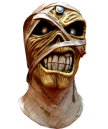 Trick or Treat Studios Iron Maiden Eddie Powerslave Mummy Mask Costume T... - £41.66 GBP