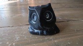 "Vintage Owl Figure by AARDVARK Canadian Made Paperweight 2.5"" x 2.25"" - $29.69"