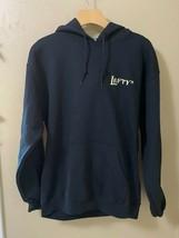 LEFTYS TAPHOUSE Black Hoodie Sweatshirt Size M Baker City Oregon Beer EUC - $11.65