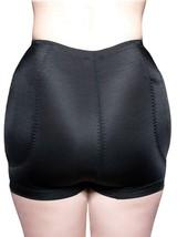 BRAND NEW WOMEN'S FULLNESS BUTT HIP PADDED ENHANCER SHAPEWEAR PANTY BLACK 8019 image 2