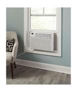 GE - 12,000 BTU 115-Volt Smart Window Air Conditioner w/ Remote in White - $395.99