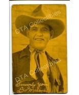 LEO MALONEY-PORTRAIT-WESTERN-1920-ARCADE CARD G - $21.73