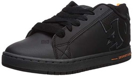 DC Men's Court Graffik SE Skate Shoe, black/battleship/black, 8 D M US - $40.95