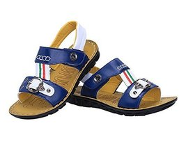 New Boy's Beach Sandals Comfortable Summer Shoes BLUE, Feet Length 16CM
