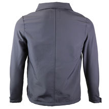 Men's Lightweight Athletic Water Resistant Windbreaker Slim Fit Jacket JERRY image 6