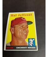 1958 Topps #294 Hal Jeffcoat  Reds - $3.91