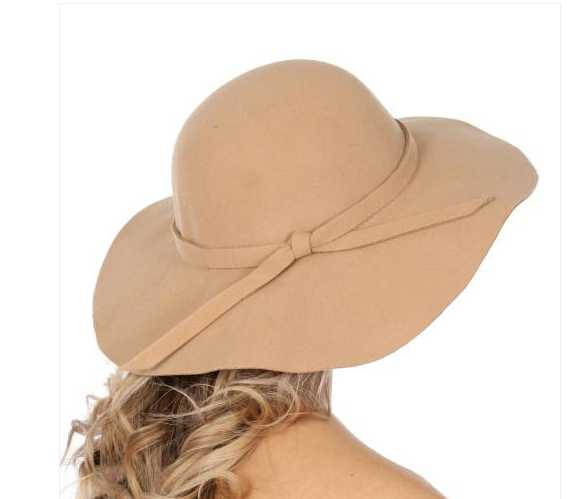 Womens Dressy Floppy hat with bow