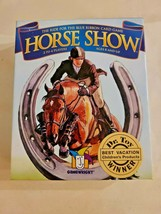 Cheval Show Ride Pour Ruban Bleu Carte Jeu Ouvert Boîte Complet Gamewrig... - $13.56