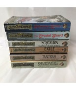 Lot Of 6 Forgotten Realms RA Salvatore Fantasy Paperback Novels 1989 - $28.70