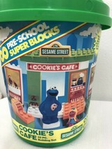 Retro 1990 Tyco Sesame Street Cookies cafe Complete - $39.60