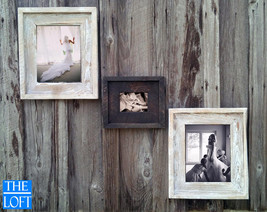 Gallery Wall (All Finishes) - Includes 2- 11x14 Frames & 1- 5x7 Frame - The Loft - $188.00