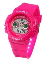 Time100 W40007G.06A  Kids' Multifunction LCD Fragrant Pink Strap Digital Watch - $19.95