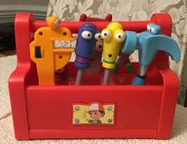 Fisher Price Handy Manny's Talkin' Tool Box - COMPLETE SET, 7 Tools, M1120 - $42.75