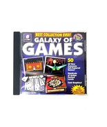 e Games Galaxy Of Games PC CD Rom 50 Games 1 Disk Various Category Games... - $11.29
