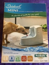 Petsafe Drinkwell Mini Drinking Fountain Waterfall For Small & Medium Sized Pets - $48.95
