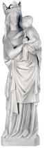 "Vierge A L'enfant Catholic sculpture statue 39"" for home or garden - $296.01"