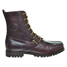 Polo Ralph Lauren Ranger Men's Smooth Oil Leather Boots Oxblood 81261550... - $158.35+