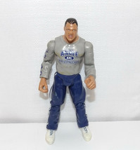 "Loose '00 Jakk's Ringside Rivals Ser #3 ""Kurt Angle"" 7"" Action Figure WW... - $9.89"
