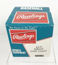Vintage Rawlings Official Little League Baseball LLB NIB NOS 9 in Cushio... - $14.84