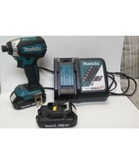 MAKITA XDT13 w/ 2x BL1820B batteries, and a DC18RC charger - TESTED - WORKING - $99.00