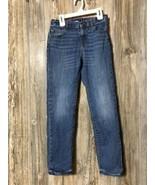 Crewcuts Boys Skinny Jeans Blue Denim Size 12 Msre 25.5x26.5 - $16.82