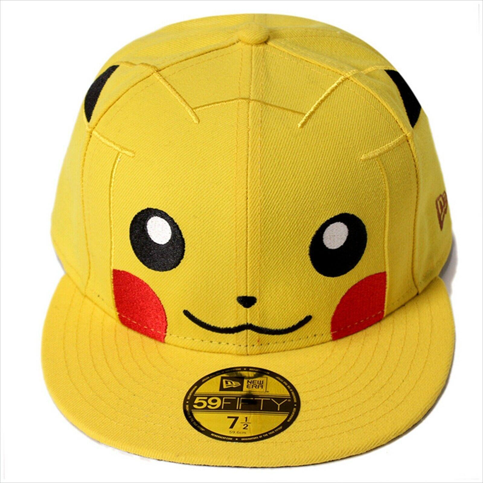 New Era Pokemon collaboration cap 59FITY Pikachu Cyber Yellow