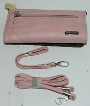 Montana West Collection MW669G 8317 Large Faux Leather Pink Conceal Carry Purse image 8
