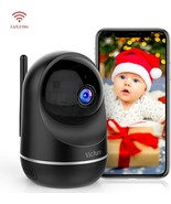 Victure Dualband 2.4Ghz and 5Ghz 1080P WiFi Camera Baby Monitor,FHD Wire... - $38.99