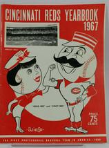 1967 Cincinnati Reds Redlegs Baseball Yearbook MLB - $24.67