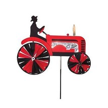 "In the Breeze 24 inch Red Tractor Spinner 24"" Inch - $40.82"
