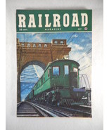 Vintage Railroad Magazine May 1949 Train on Cover - $14.80