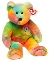 Ty Beanie Buddies - Peace the Ty-Dyed Bear - $22.49