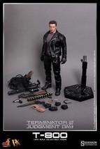 Hot Toys DX10 The Terminator 2 T-800  Arnold Schwarzenegger Figure - $467.49
