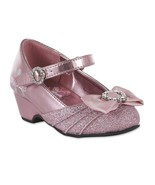 Girls Disney Princess Mary Jane Shoes Size  8 or 11 Toddler Child Jewels - $19.99
