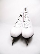 American Women's   524 Leather Lined Figure Skate White Size 8 - $34.65