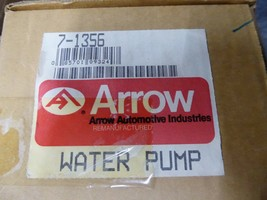 14089011 GM Water Pump Remanufactured By Arrow 7-1356 image 2