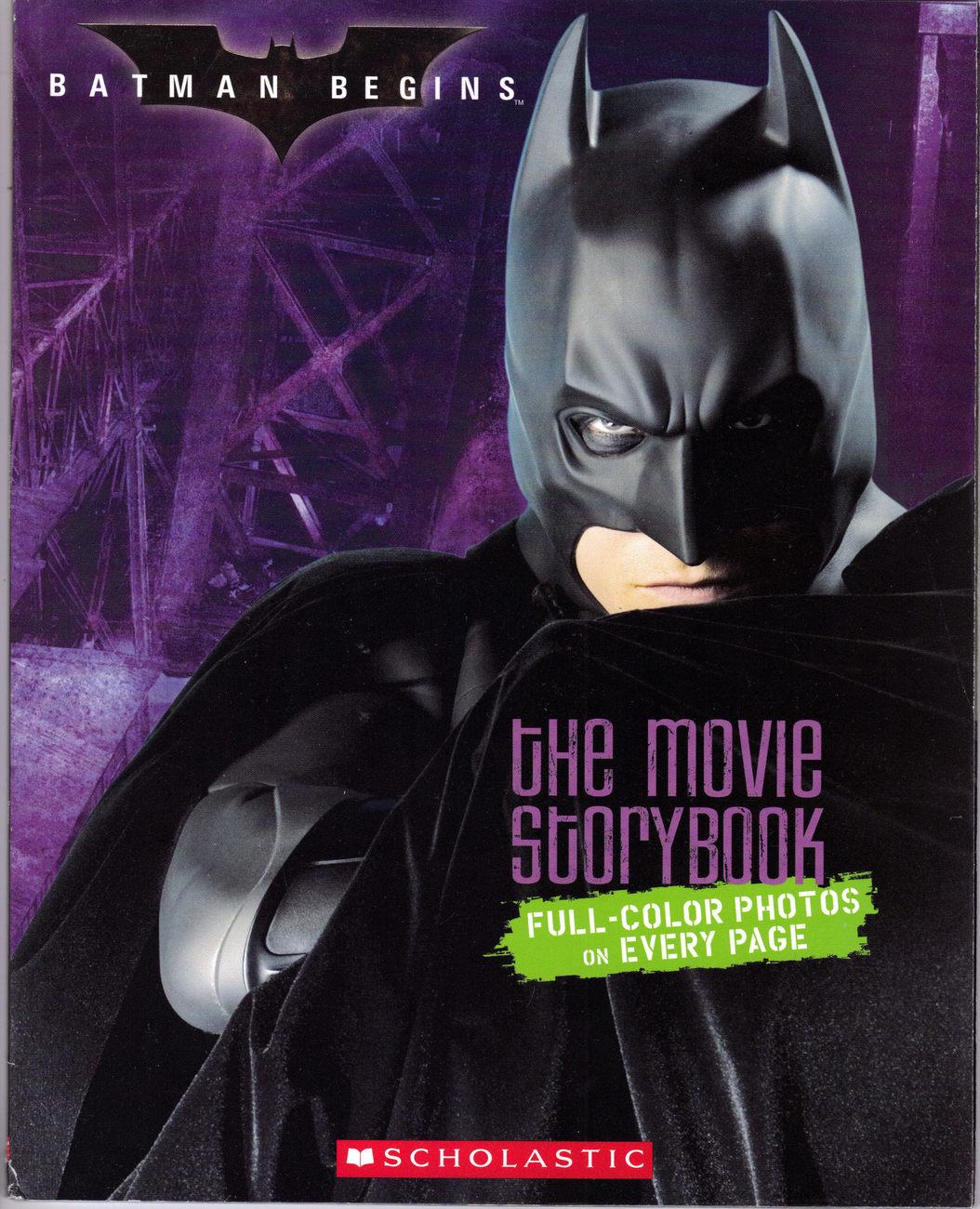 Batman begins book