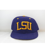 LSU Tigers Hat (VTG) - 1990s Baseball Team Pro Model by New Era - Fitted... - $55.00