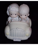1988 Precious Moments Wishing You Roads Of Happiness Wedding Figurine - $39.99