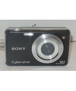 SONY CyberShot DSC-W230 12MP Digital Camera Black - $52.60