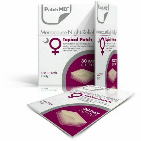 PatchMD Menopause Night - Topical Patch (30 Day Supply) - EXP2022 - $14.50